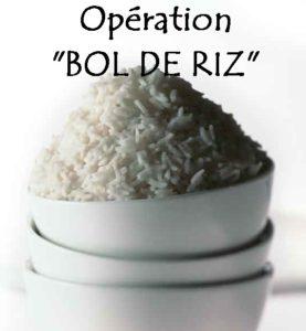 """Repas Solidarité """"Opération Bol de riz"""""""